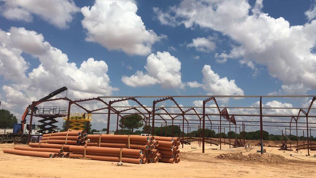 Construcción de naves Castilla la Mancha