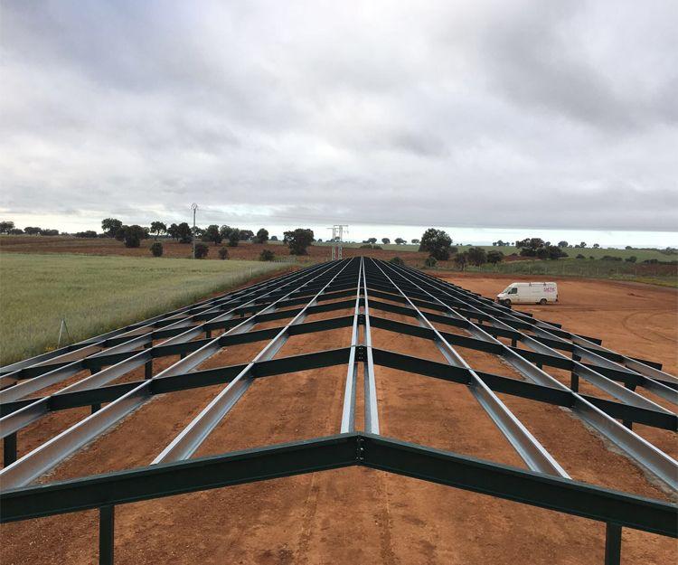 Colocación de techos metálicos en Castilla La Mancha