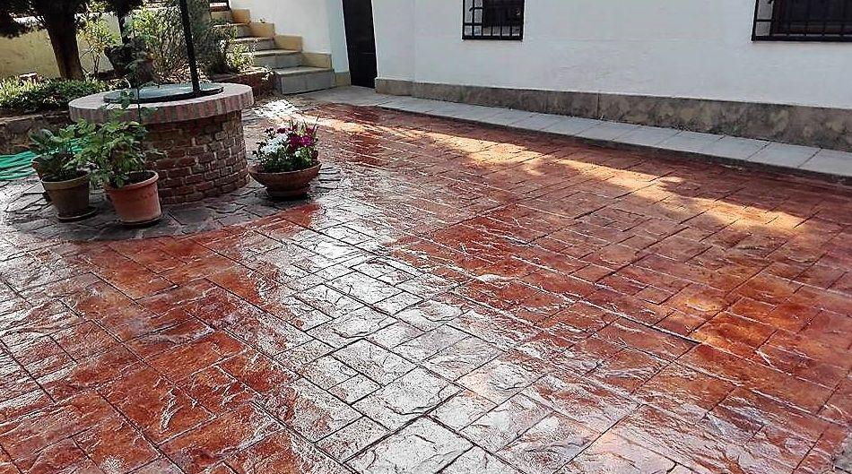 Hormigón impreso piedra de silleria.: Pavimentos de hormigón de Pedro León Pulidos de Hormigón