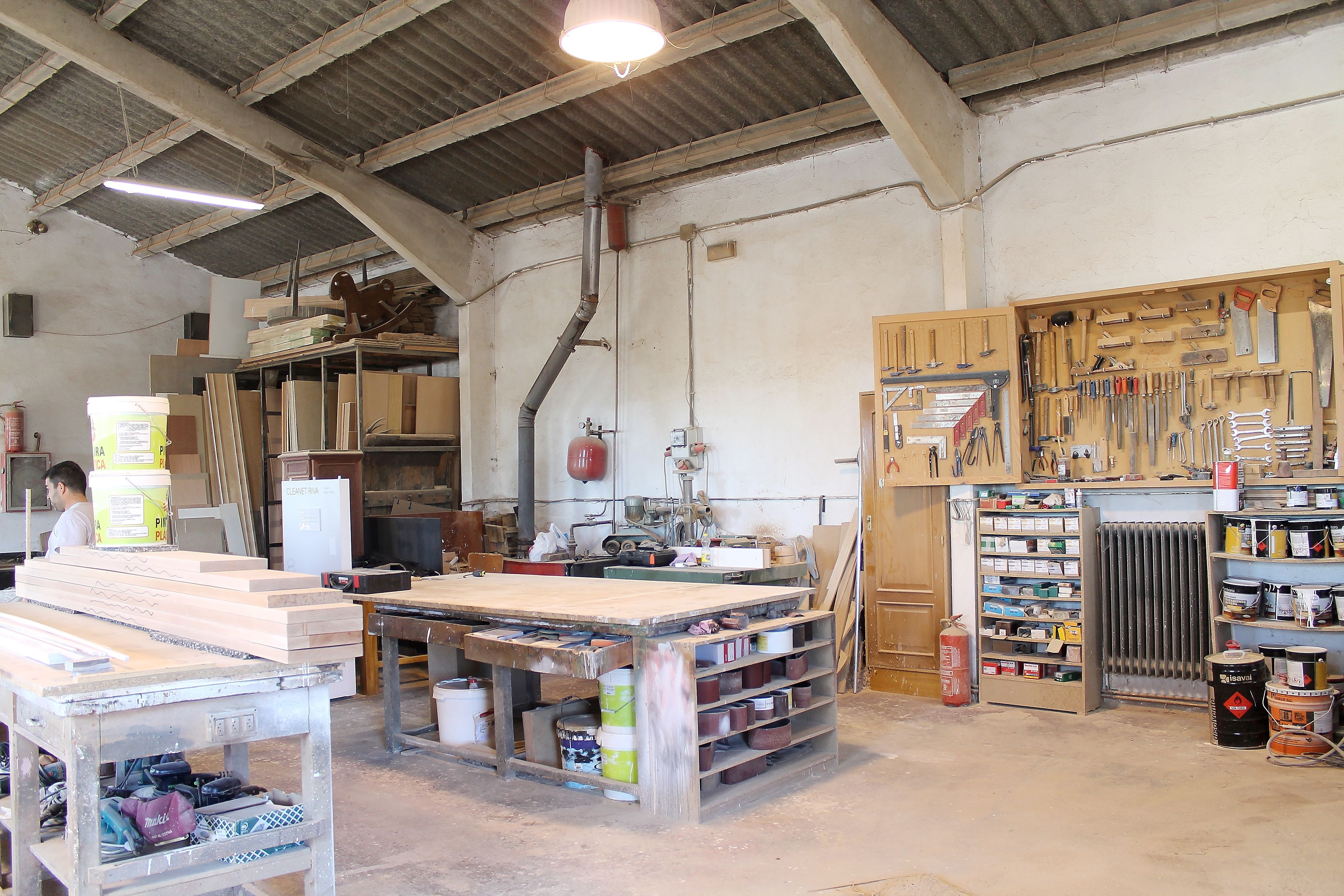 Carpintería artesana de madera en Pedrezuela