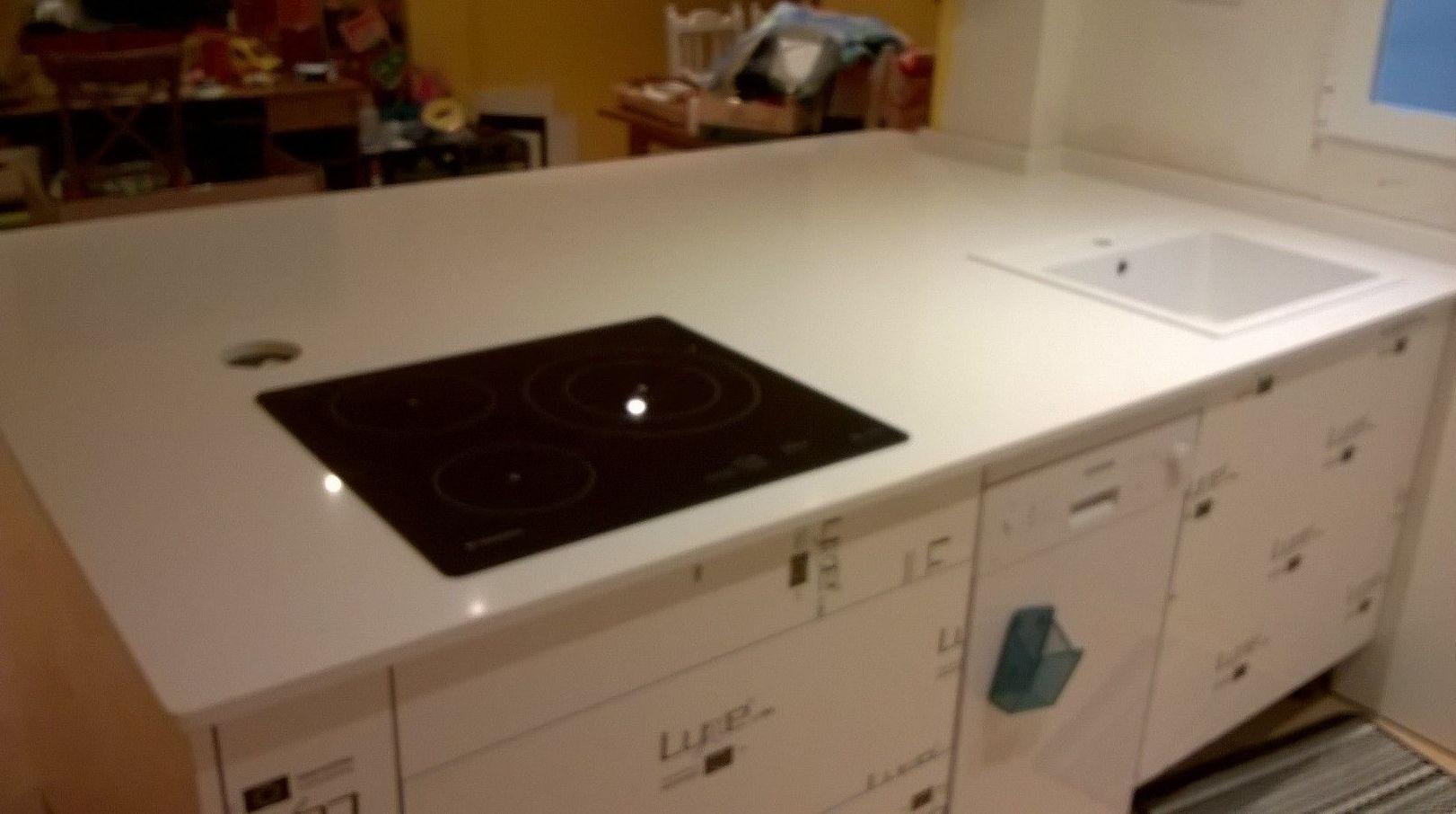 Encimeras de cocina en marmol