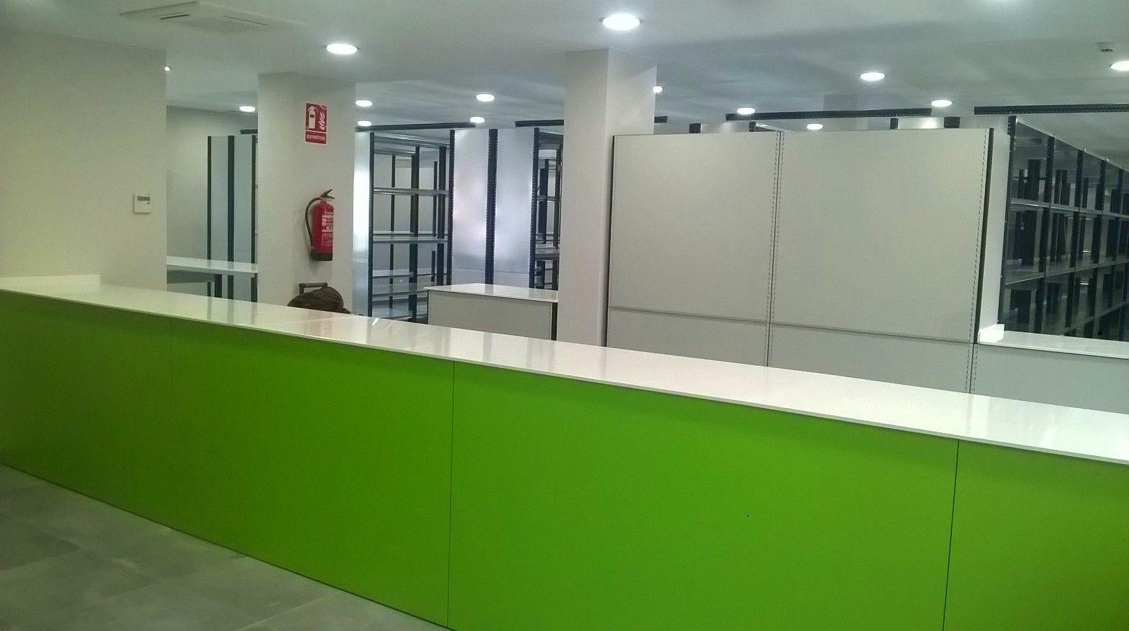 MOSTRADORES ROPERO AYUNTAMIENTO DE UTEBO: Servicios de Mármoles Gaivi