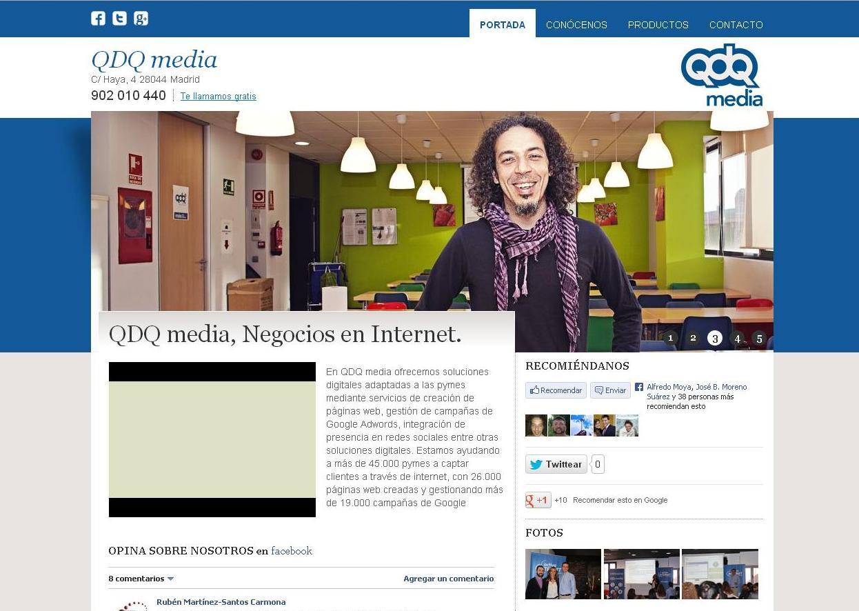 Foto 3 de Diseño de páginas web en Madrid | Espacio Qonecta