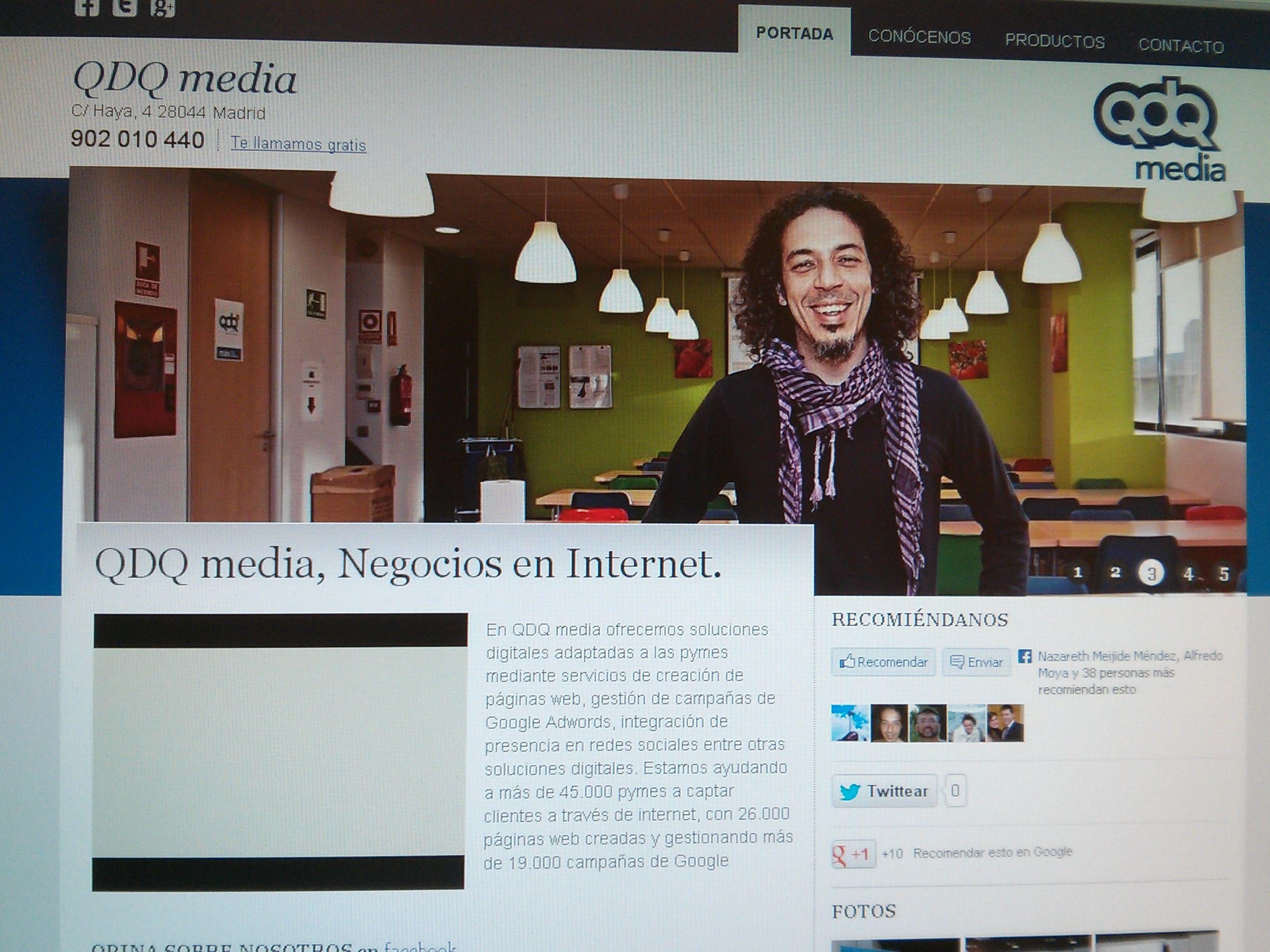 Foto 7 de Diseño de páginas web en Madrid | Espacio Qonecta