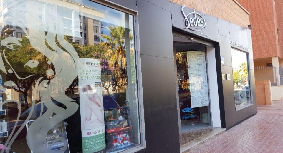 Entrada Sedes Peluqueros en Castellón