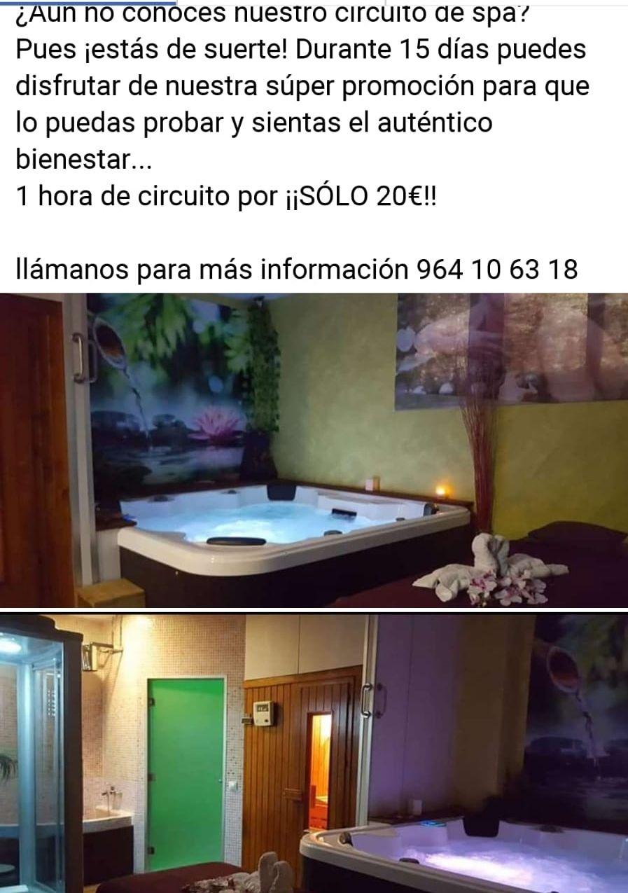 Circuito de spa en Castellón