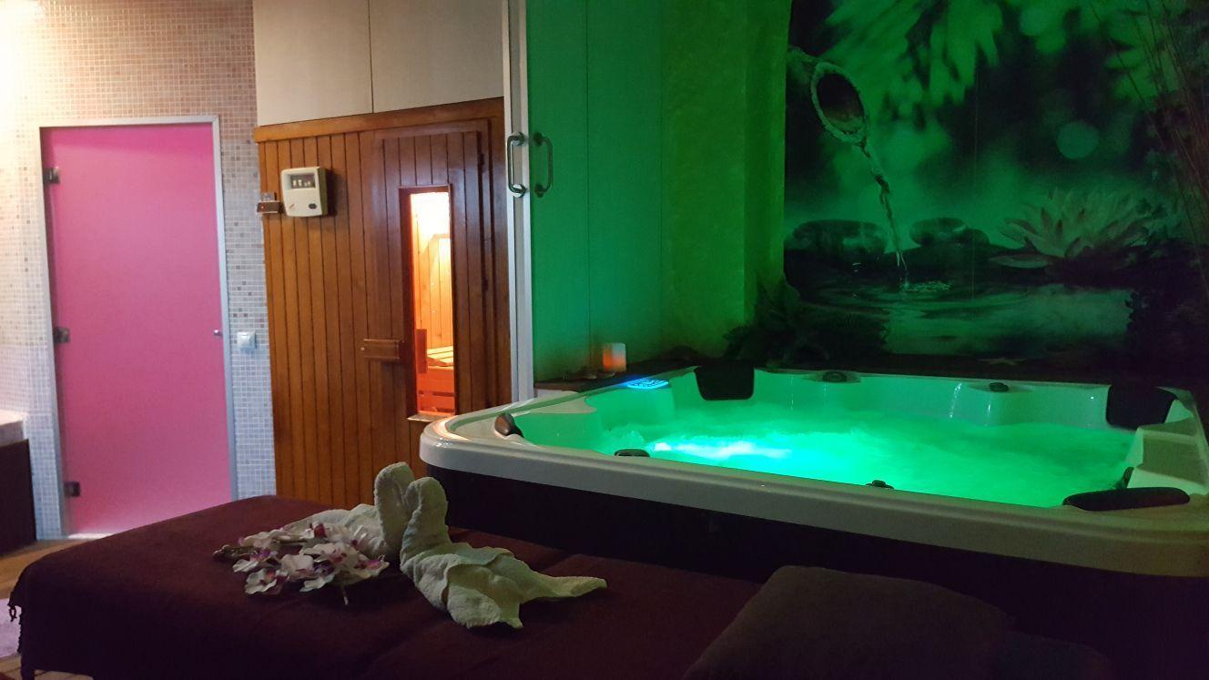 Zona de spa en Castellón