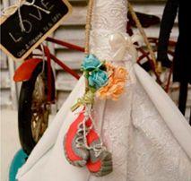 Detalles de decoración de bodas en Sarrià Sant Gervasi