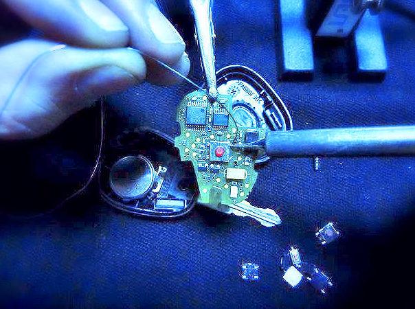 reparar mando coche