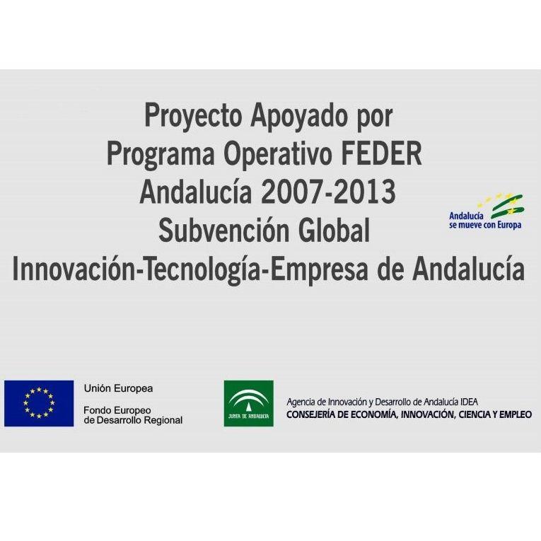 Proyecto apoyado por programa operativo FEDER Andalucía : Servicios de CLONEKEY