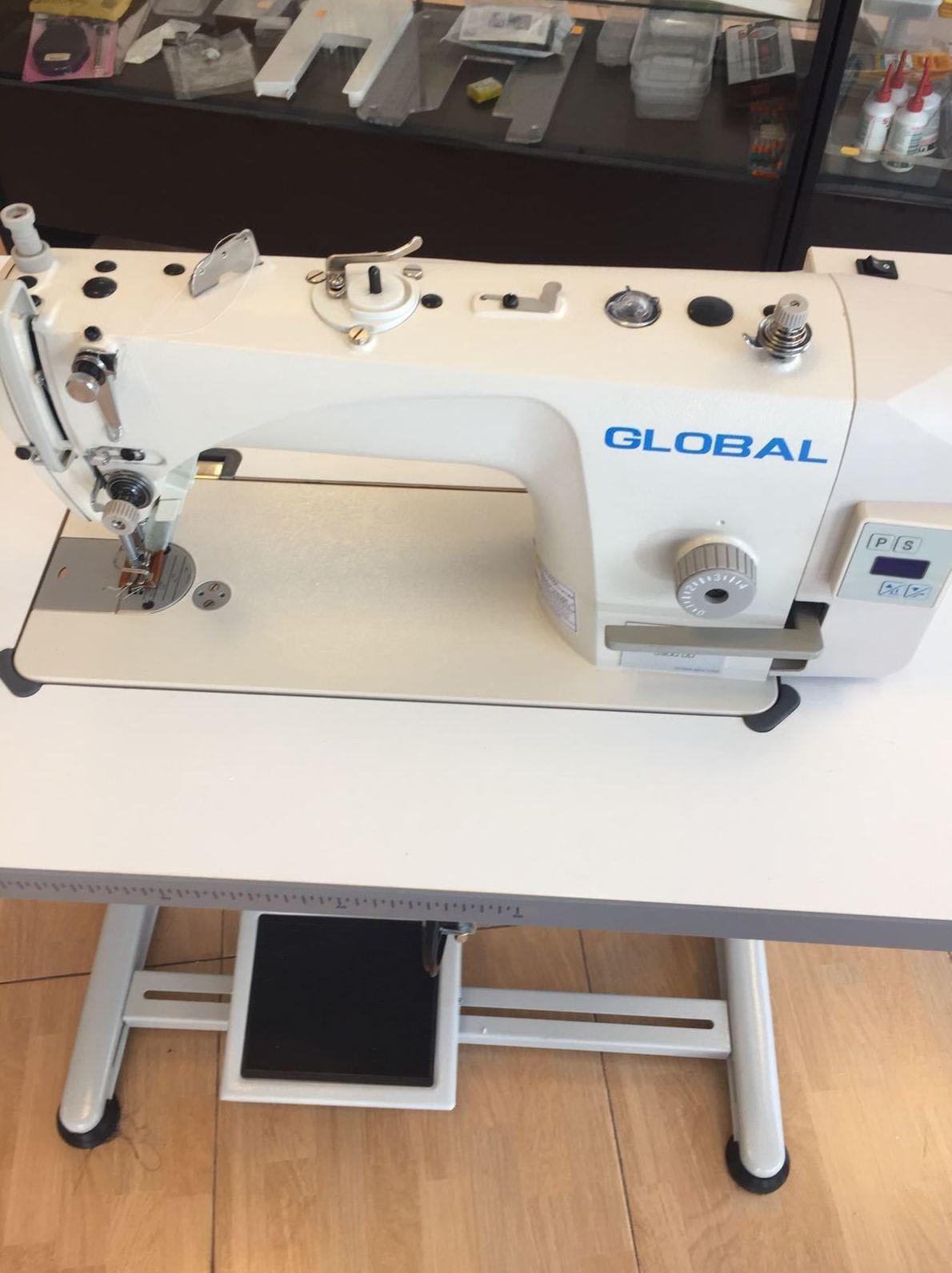 Máquinas de coser planas