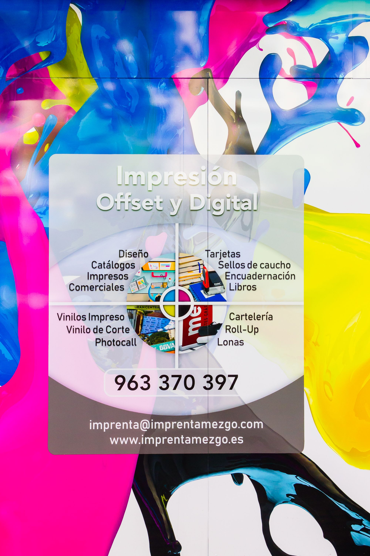 Foto 7 de Artes gráficas en València | Imprenta Mezgo
