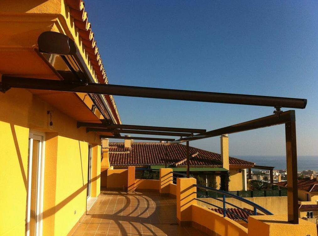 Toldos Intecsol - Pérgolas para terrazas