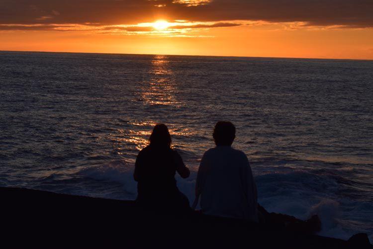 Puesta de sol en Lanzarote