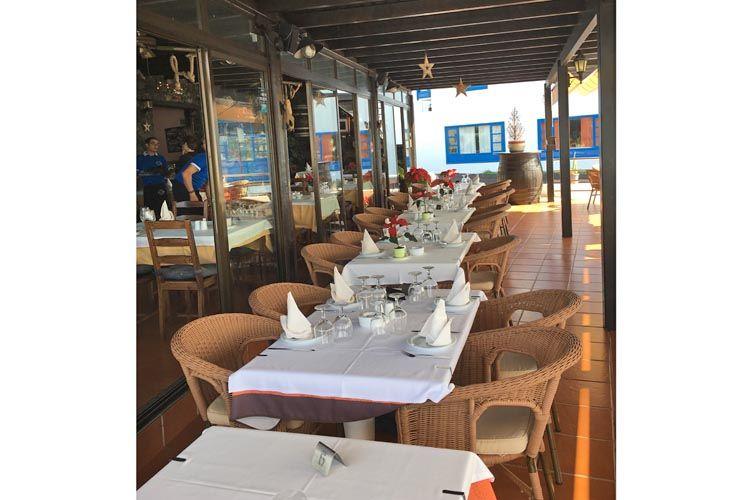 Restaurante frente al mar en Lanzarote