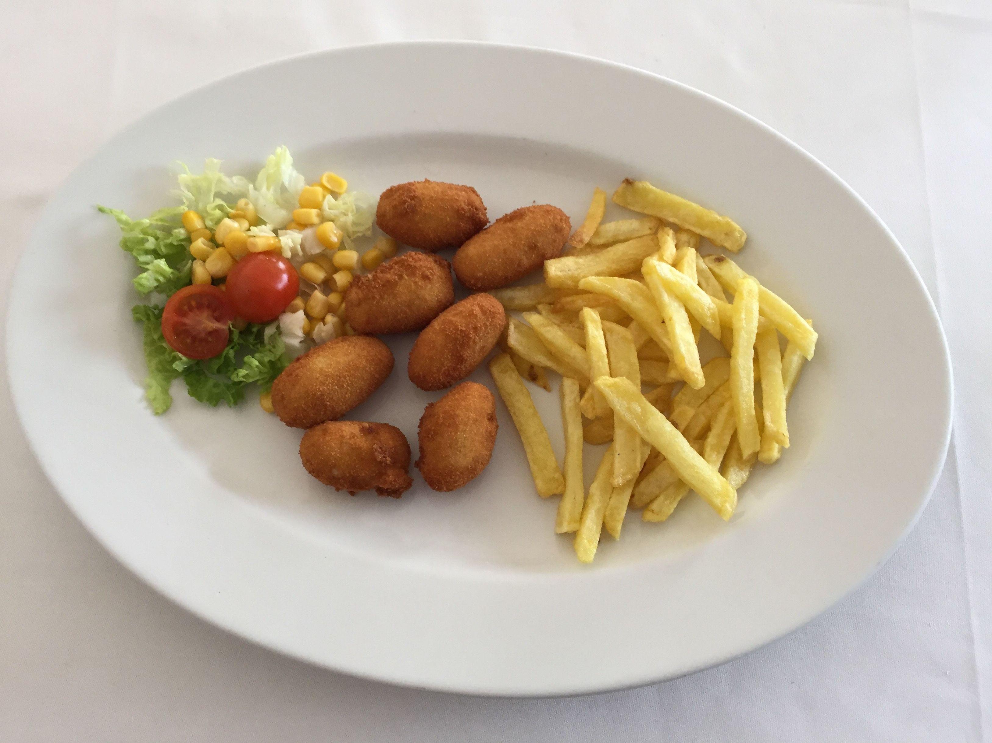 Menú de niños: Carta de Restaurante Casa Rafa