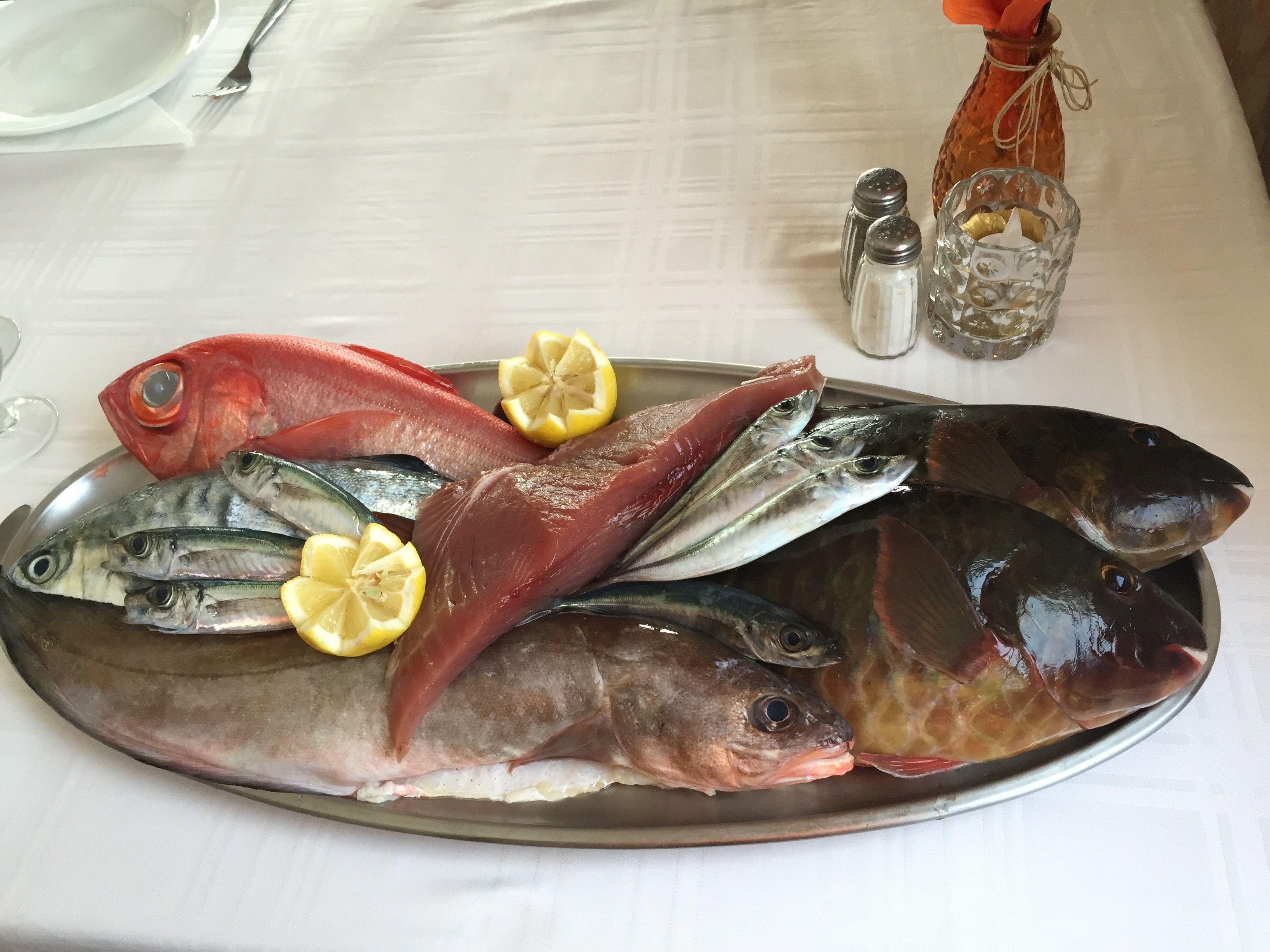 Pescados: Carta de Restaurante Casa Rafa