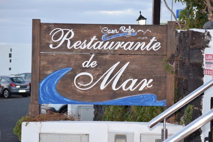 Restaurante Casa Rafa en Lanzarote