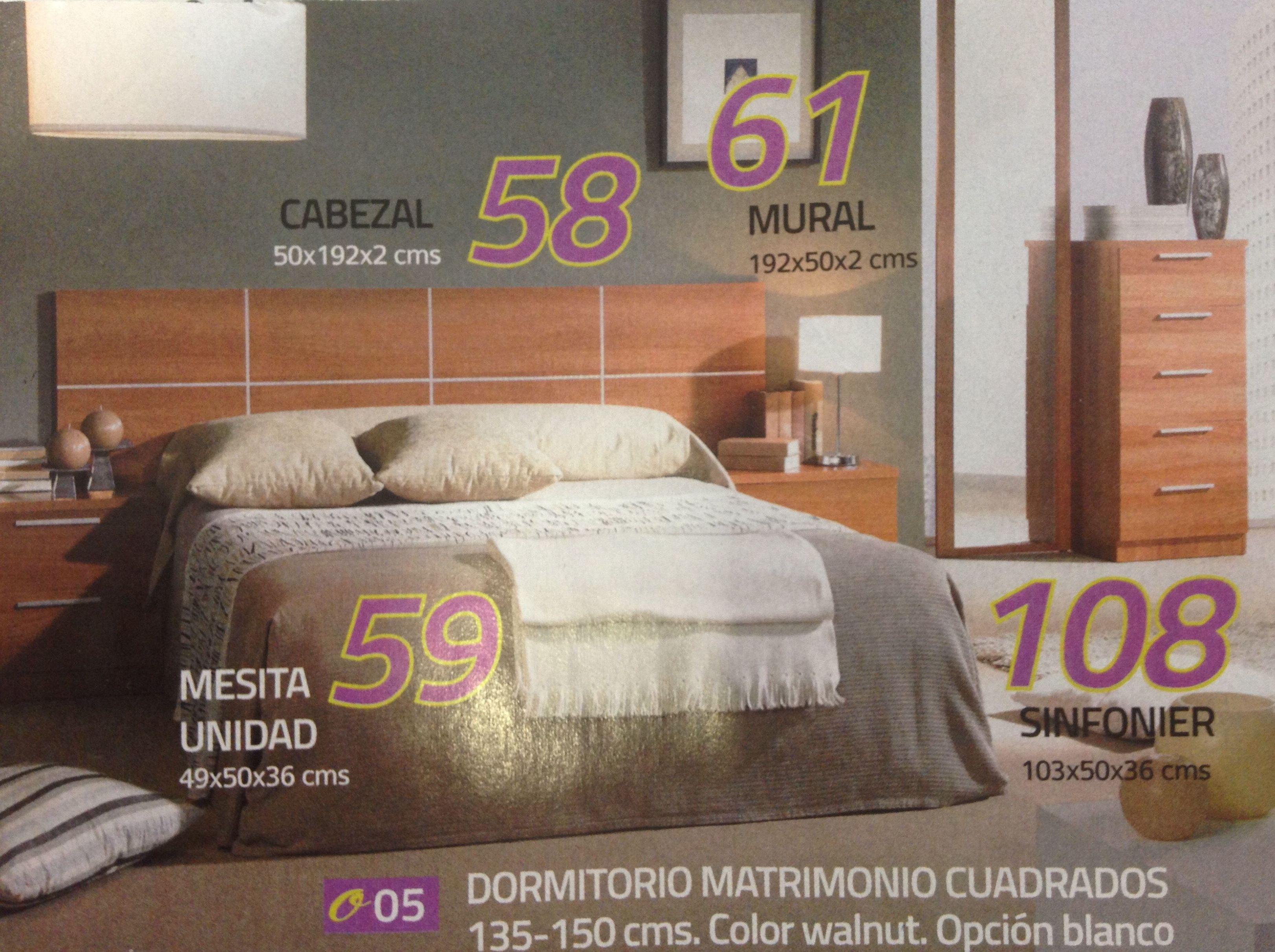Dormitorio  mod.05: Productos  de Muebles Llueca, S. L.
