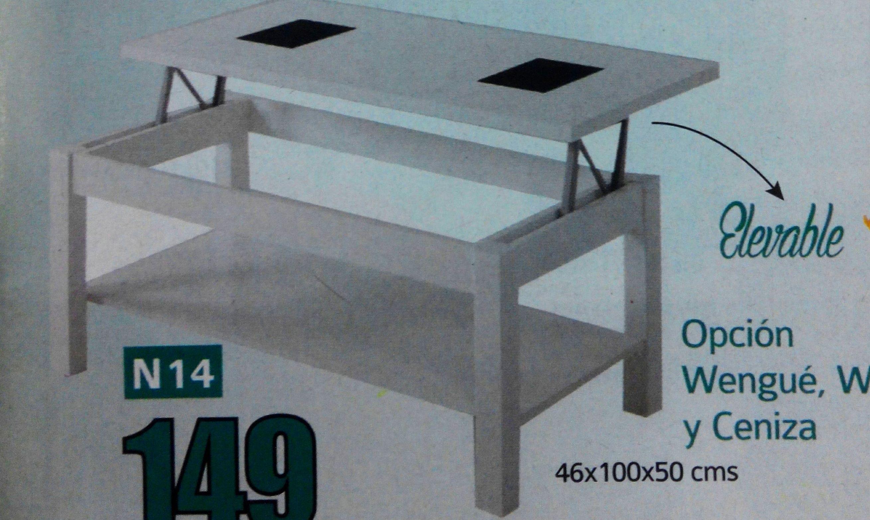 mesa centro mod.14: Productos  de Muebles Llueca, S. L.