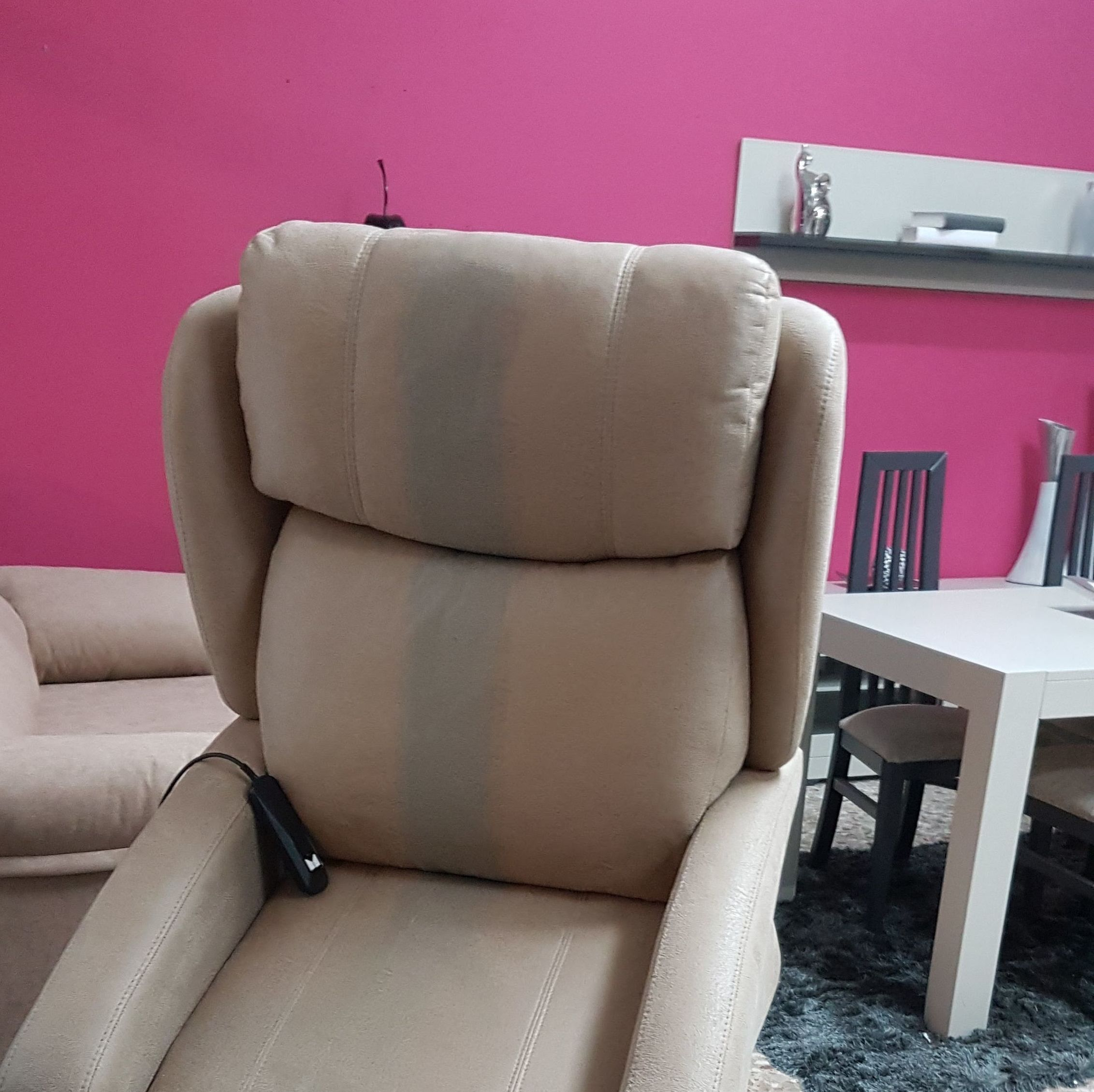 sillon relax motor puesta en pie : Productos  de Muebles Llueca, S. L.
