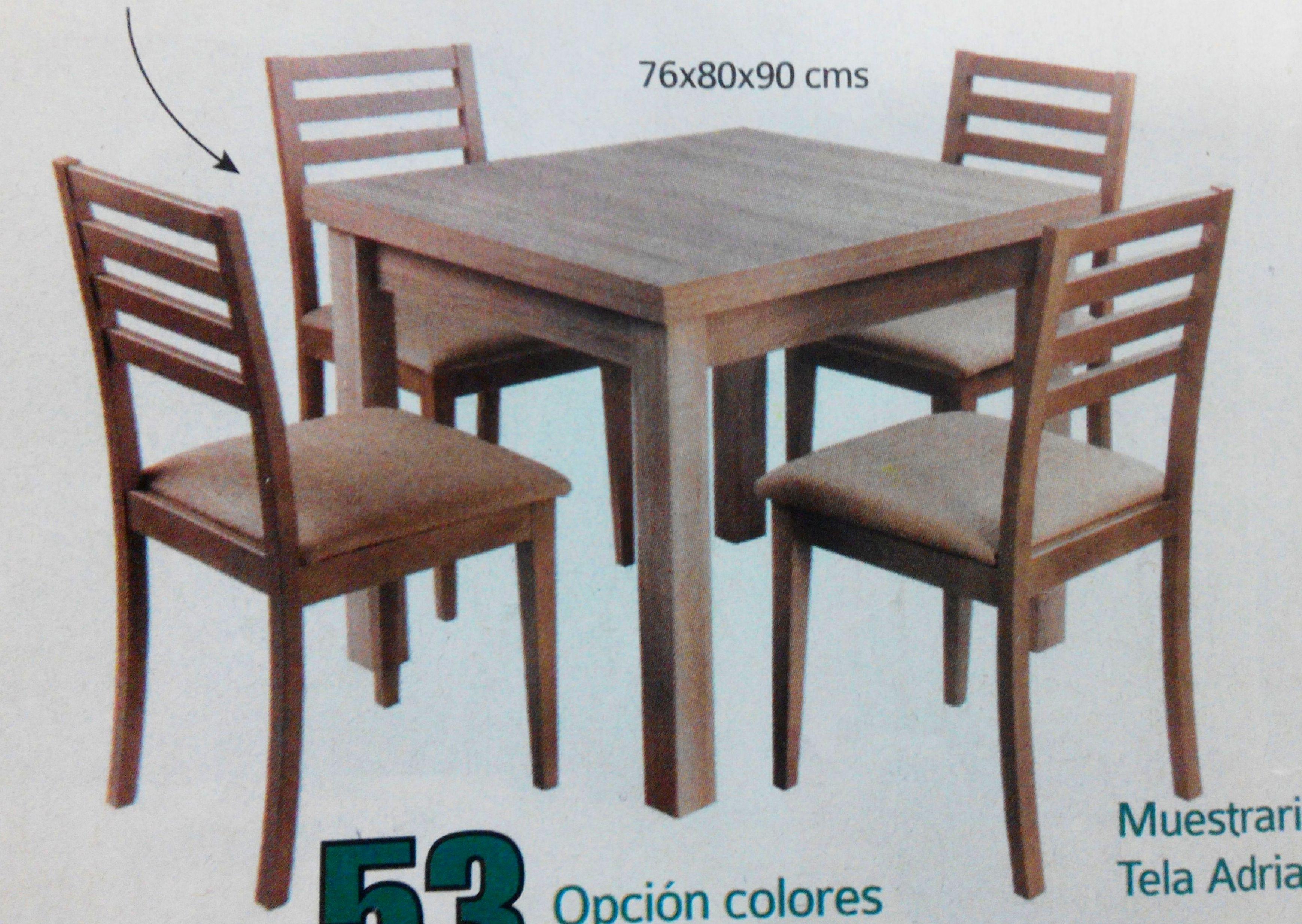 conjunto mesa eco mod.101: Productos  de Muebles Llueca, S. L.