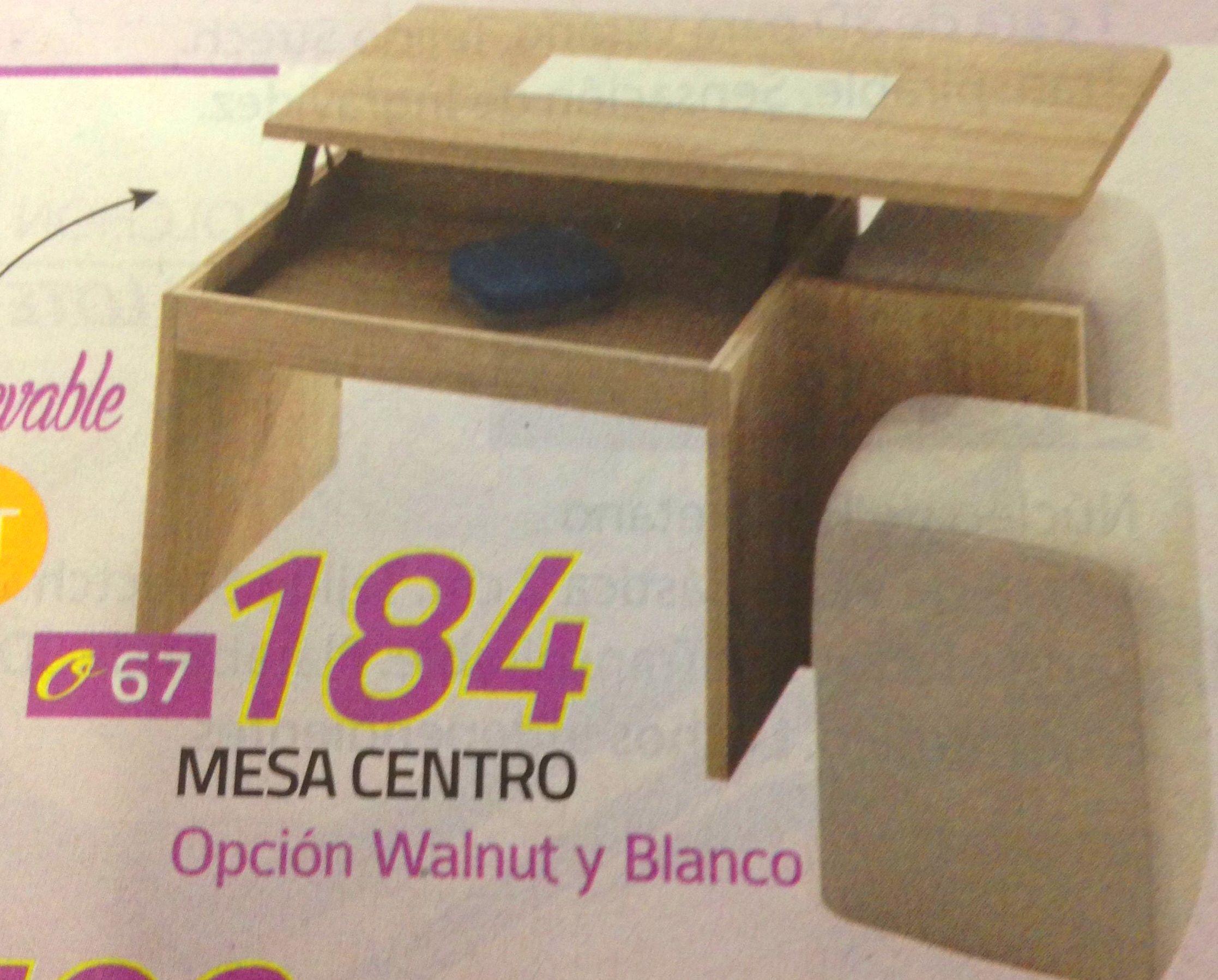 mesa centro puff mod.67: Productos  de Muebles Llueca, S. L.