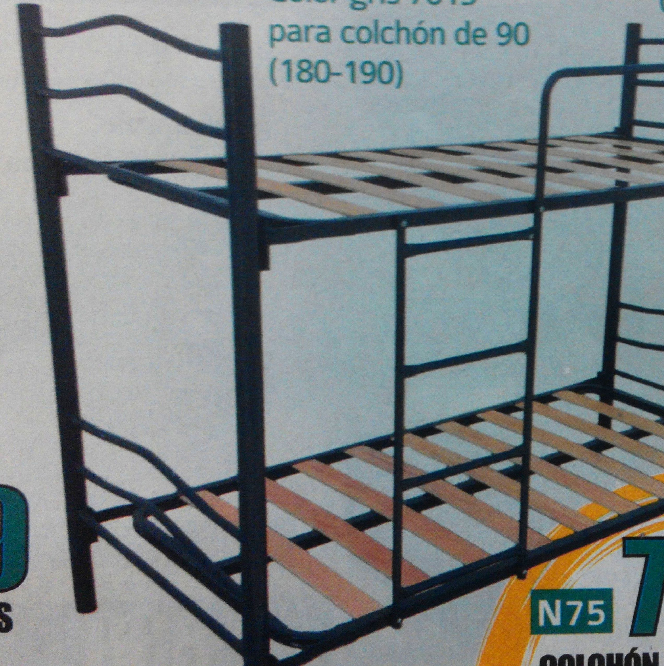 litera de hierro mod.76: Productos  de Muebles Llueca, S. L.