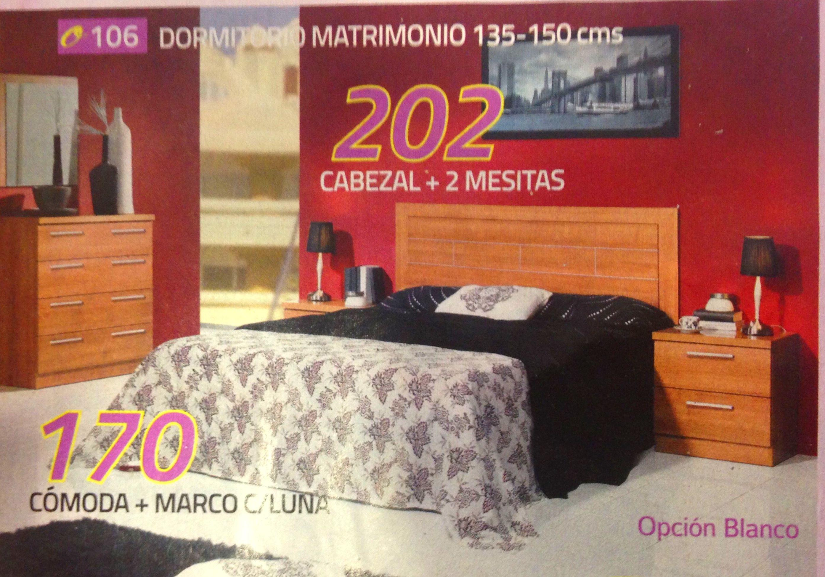 dormitorio mod.106: Productos  of Muebles Llueca, S. L.