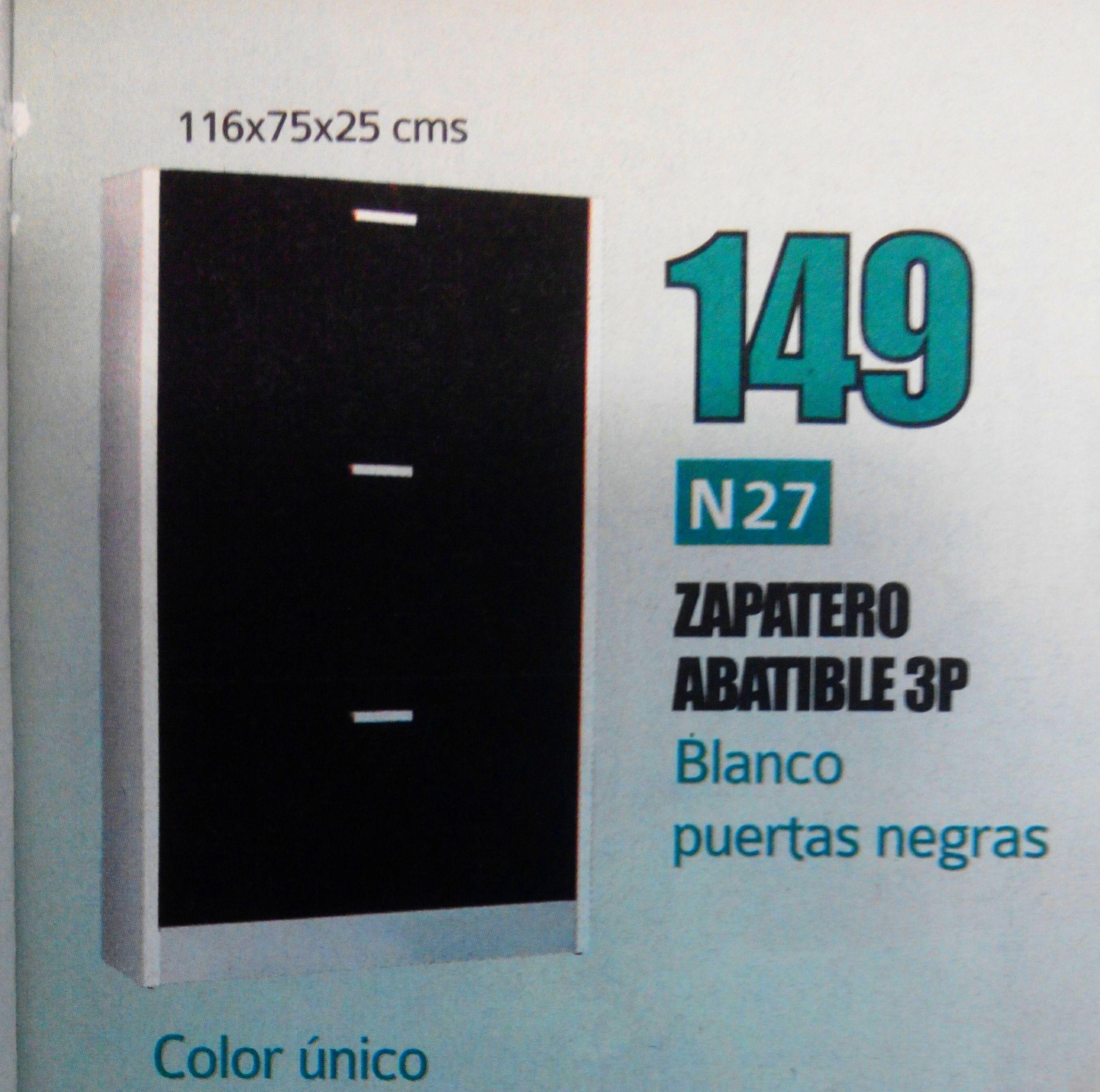 zapatero mod.27: Productos  de Muebles Llueca, S. L.