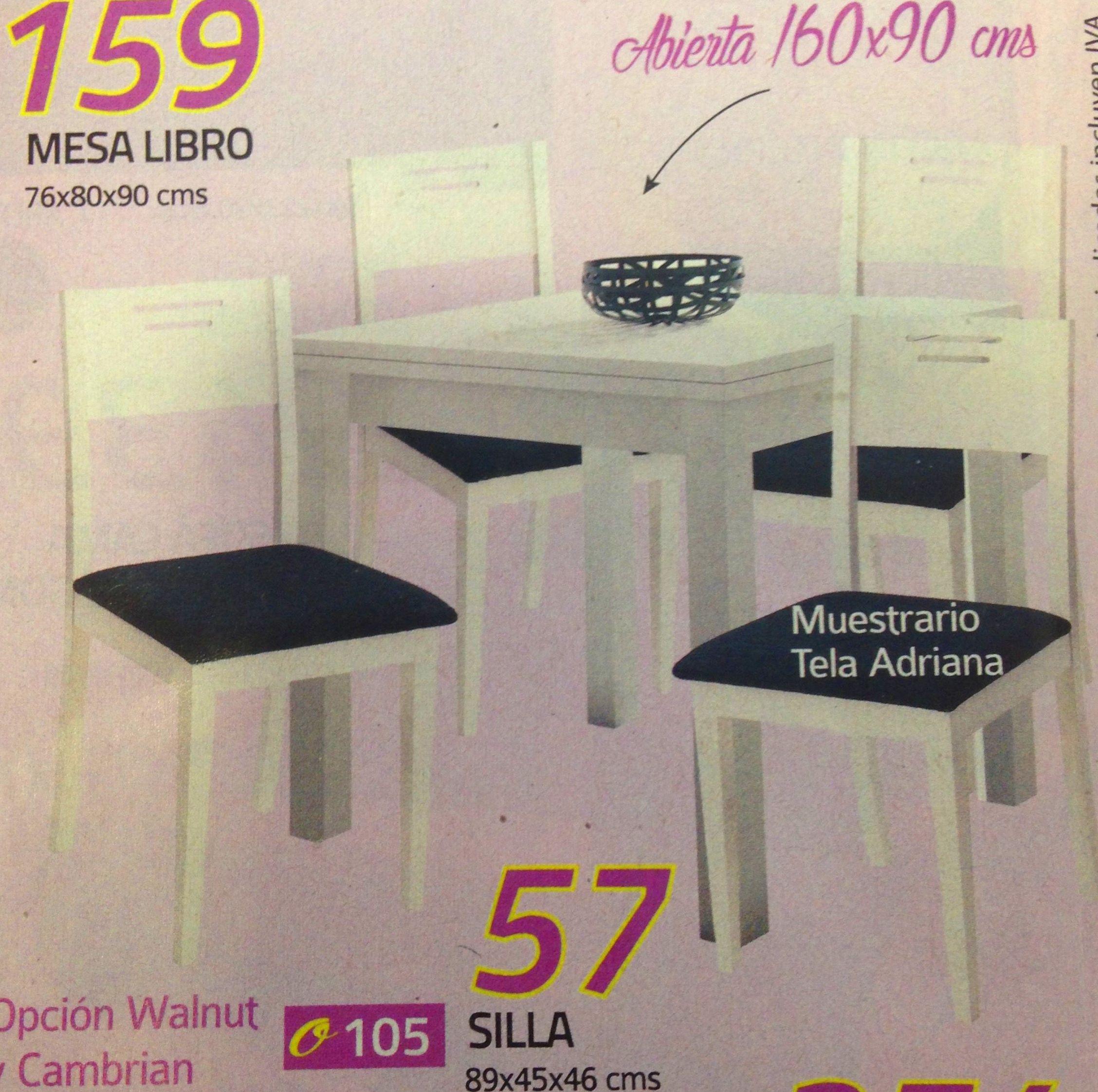 mesa libro mod. 104: Productos  de Muebles Llueca, S. L.