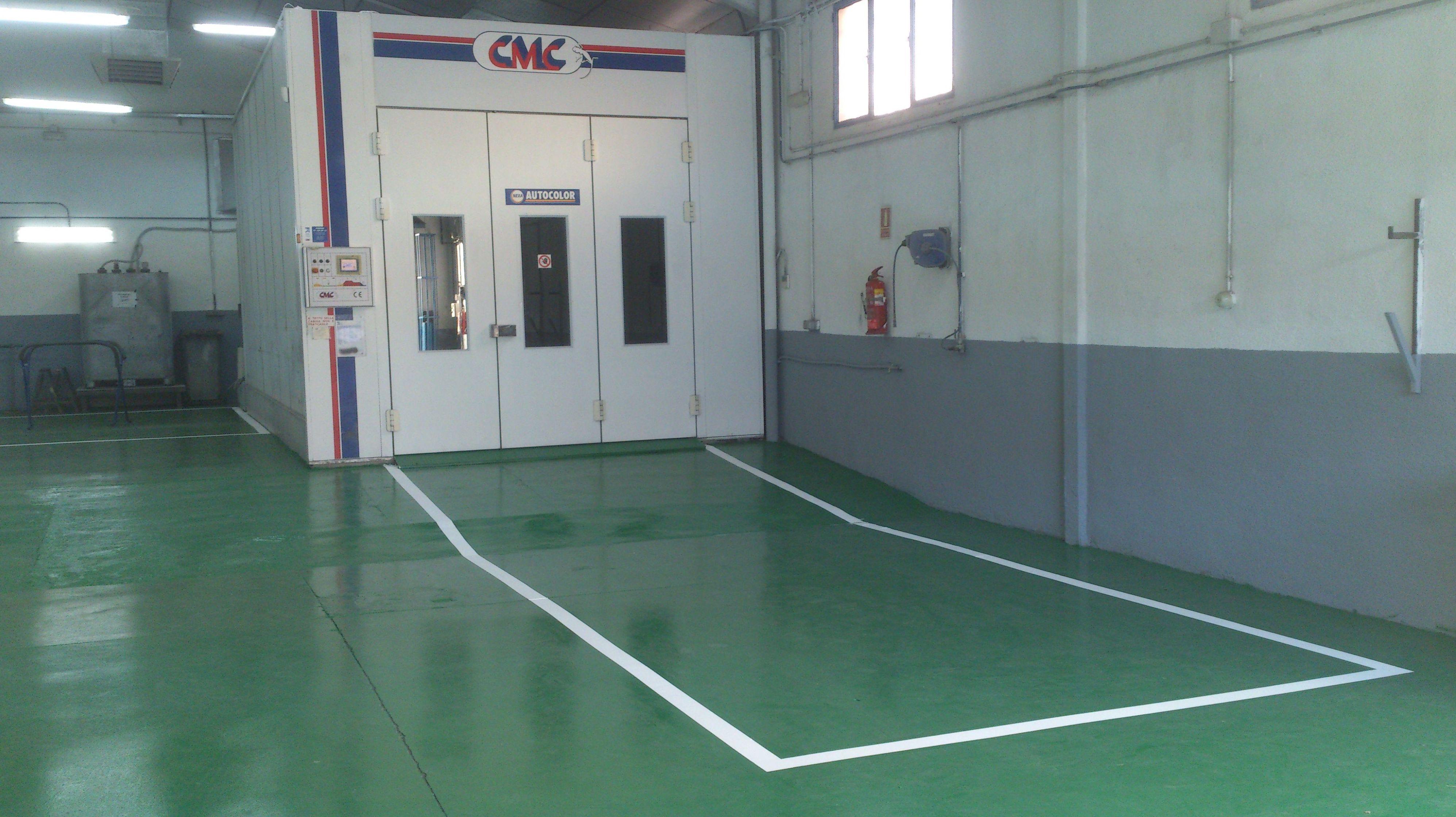 Cabina de pintura CMC, últimas tecnologías