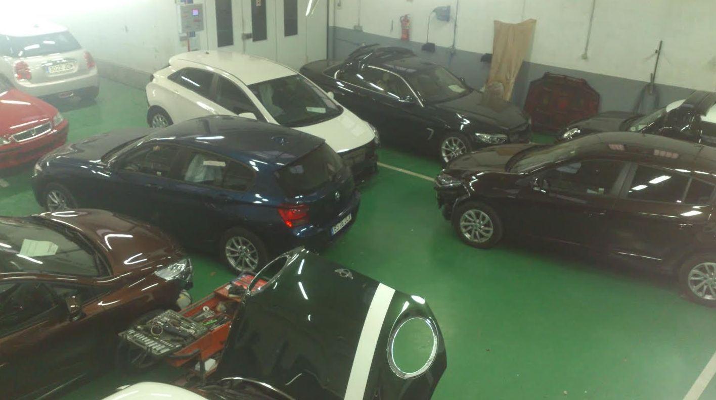 Legauto Motor, taller especialista en reparaciones de chapa y pintura