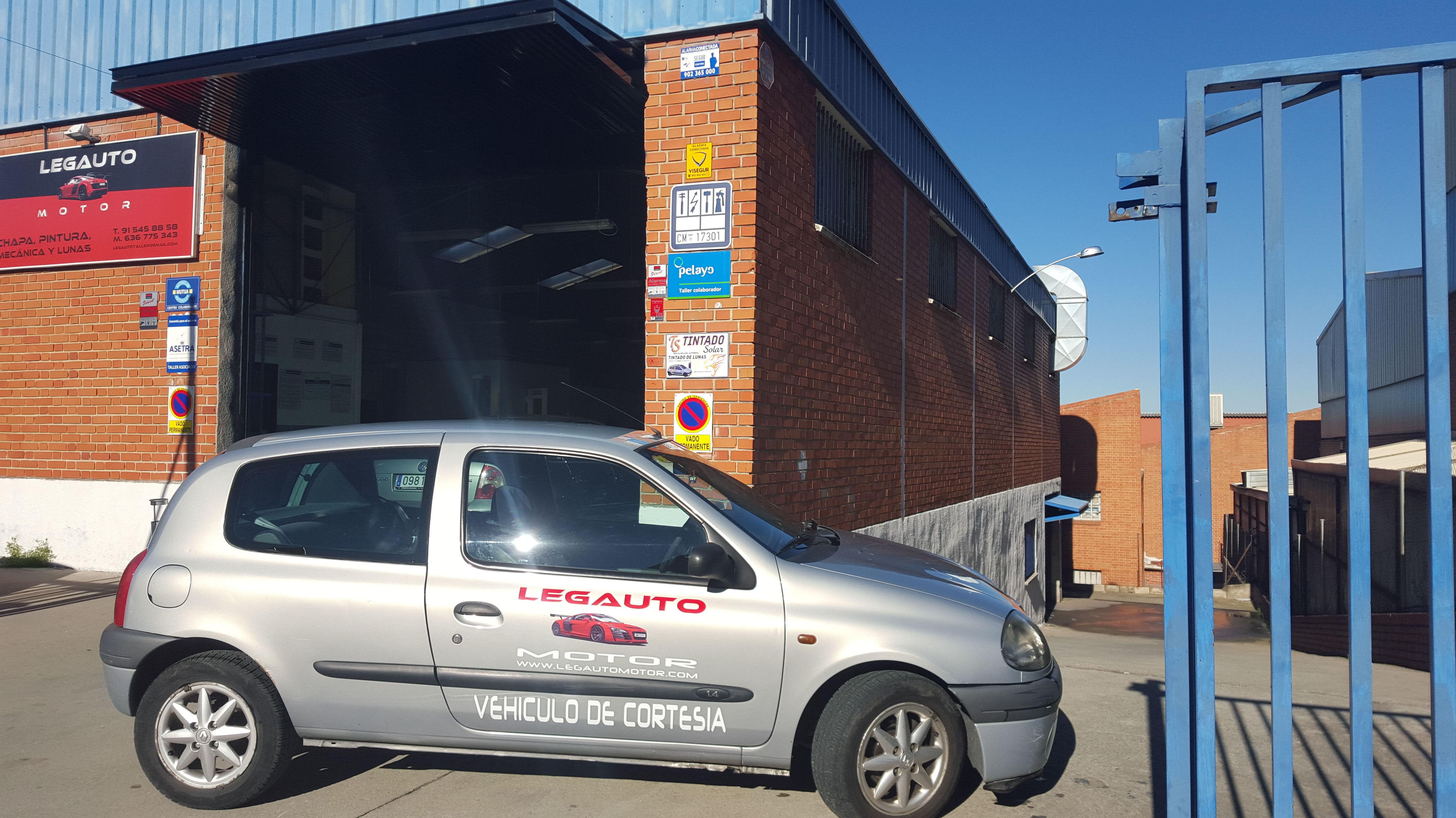 Vehículo de cortesia gratis en Alcorcón