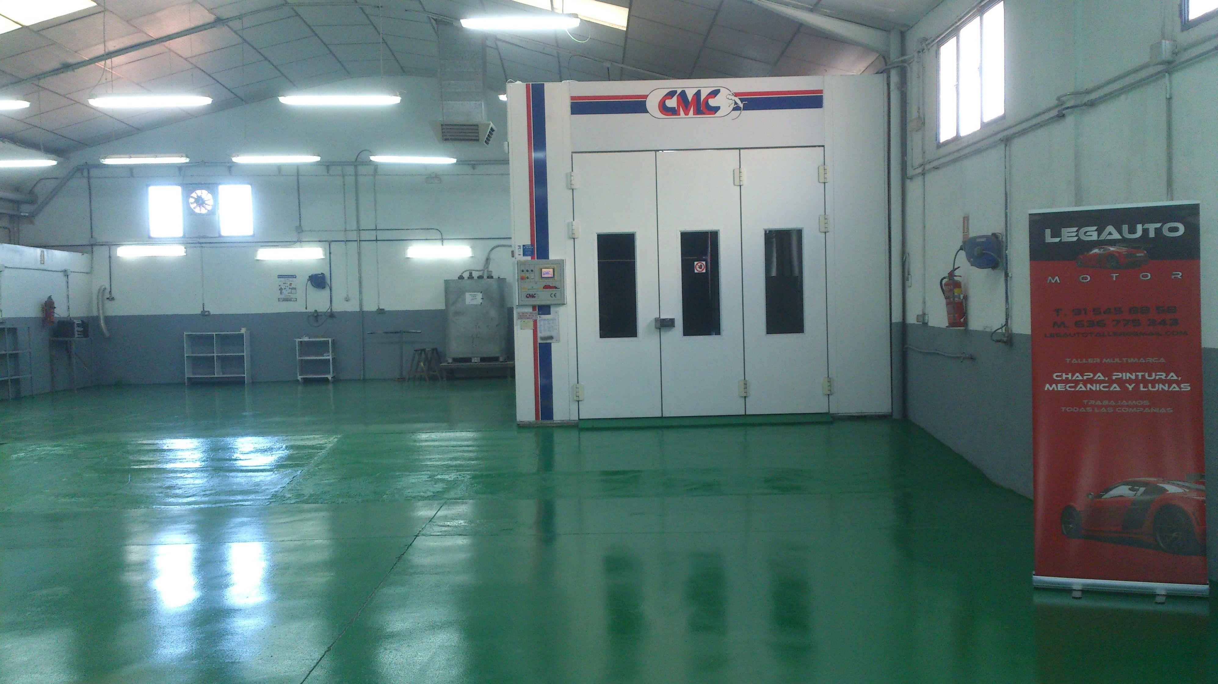 Legauto Motor.Cabina de pintura CMC
