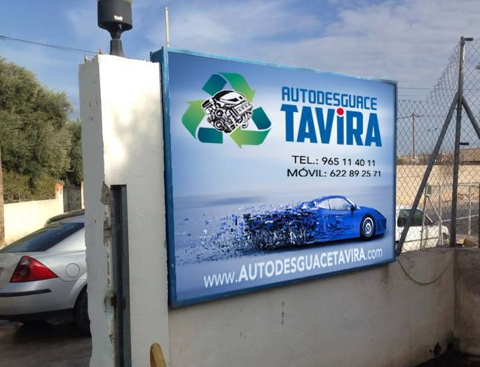 Desguace de coches en Alicante