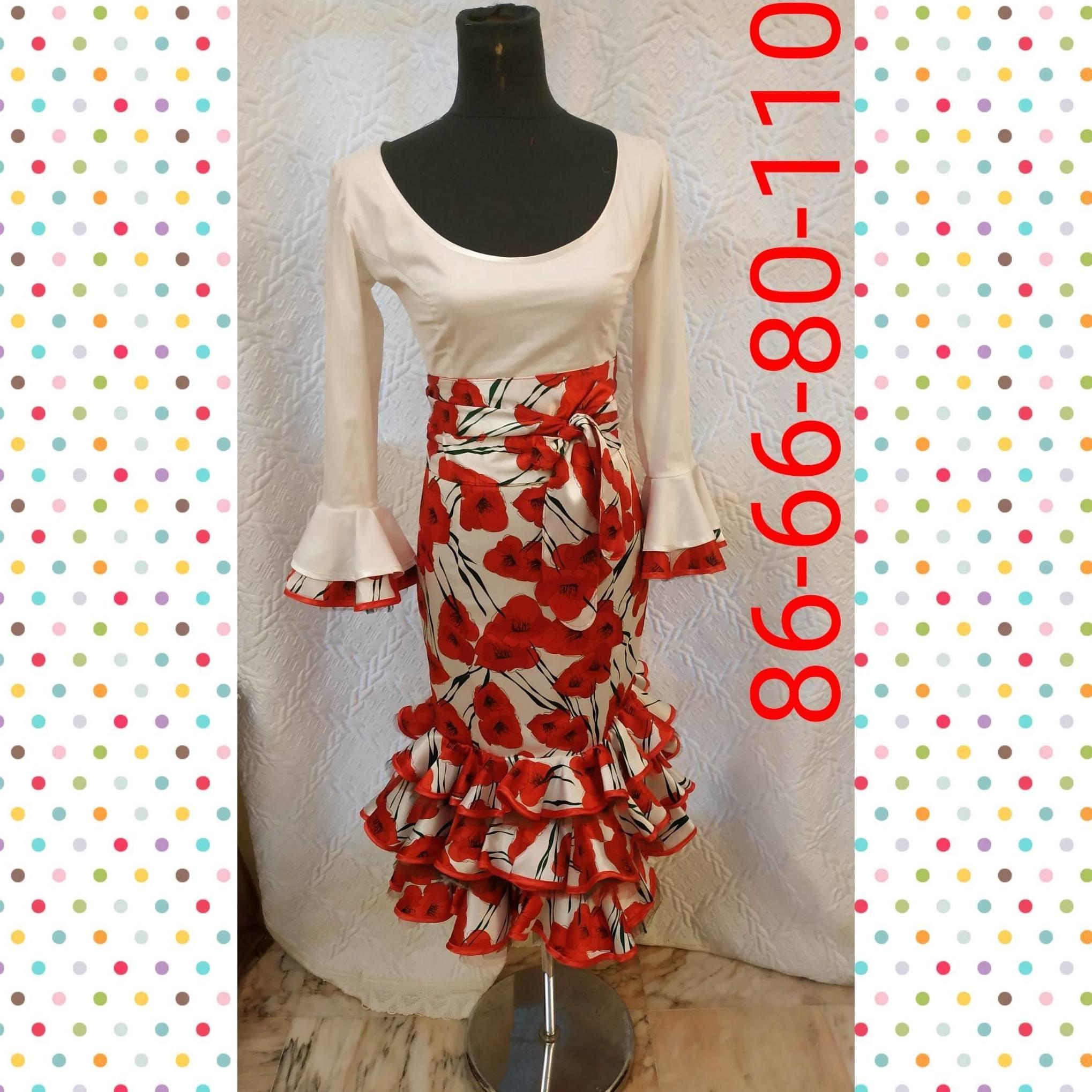 traje de flamenca modelo 20190947