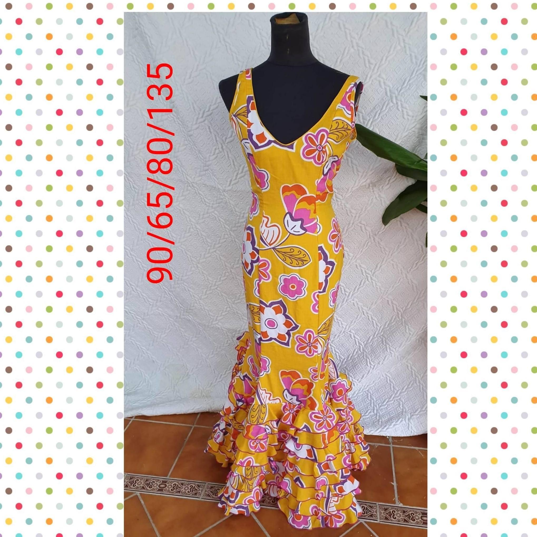 Traje de flamenca modelo 201964