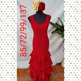 Traje de flamenca modelo  201922