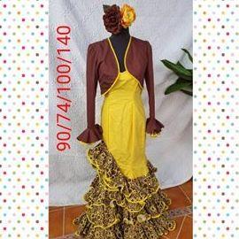 Traje de flamenca modelo 201868