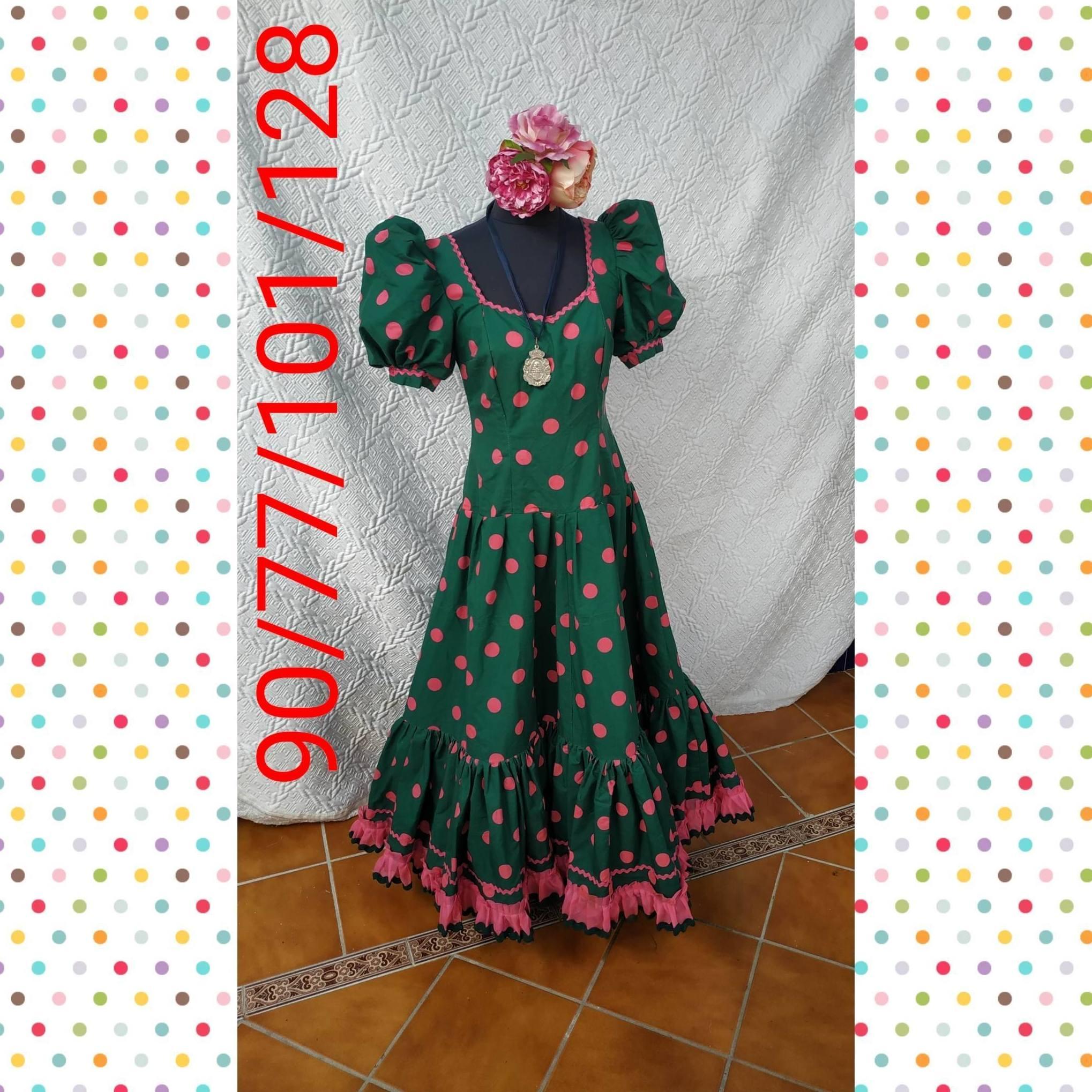 Traje de flamenca modelo 201973R