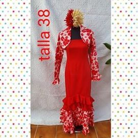 Traje de flamenca modelo 211923
