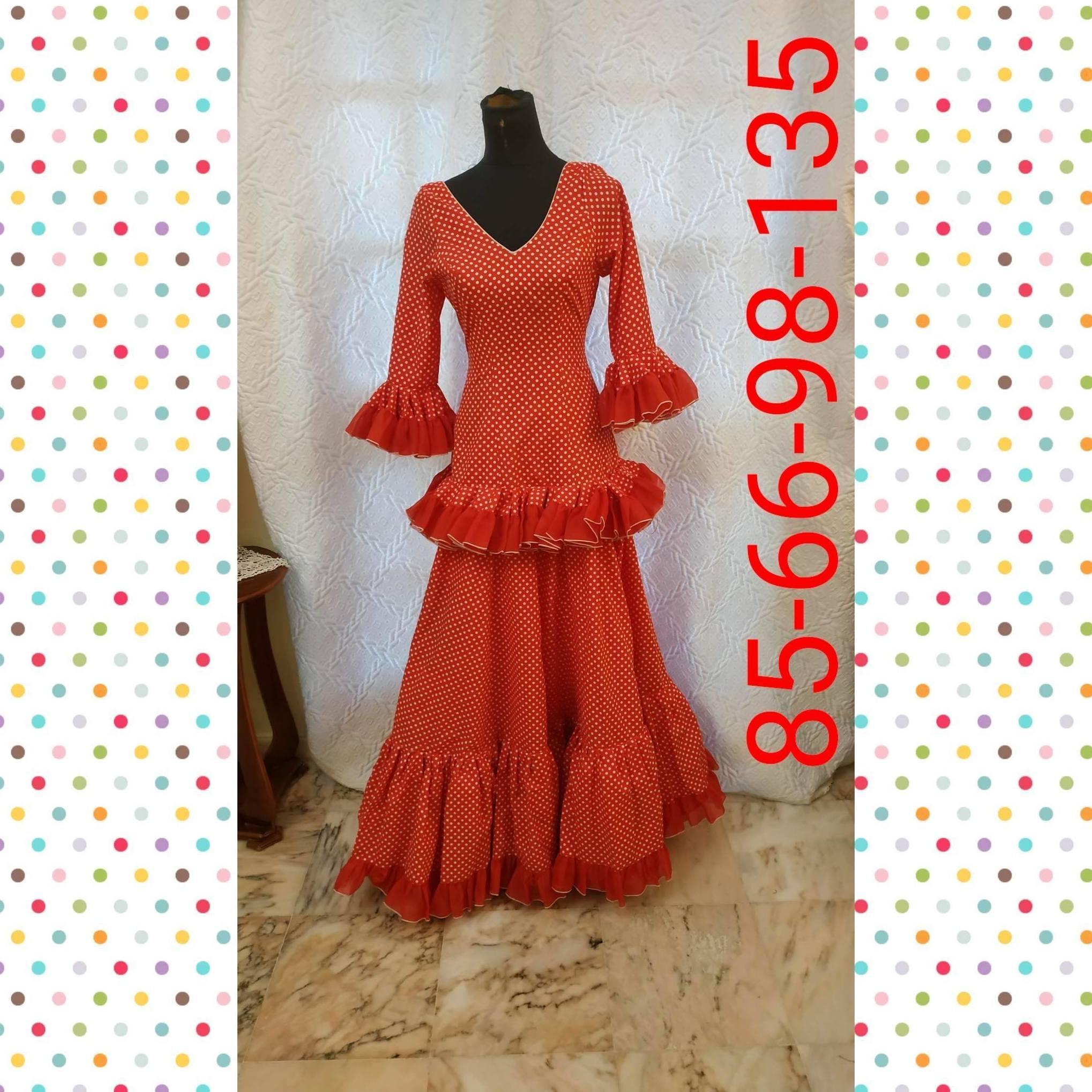 Traje de flamenca modelo 201909R8
