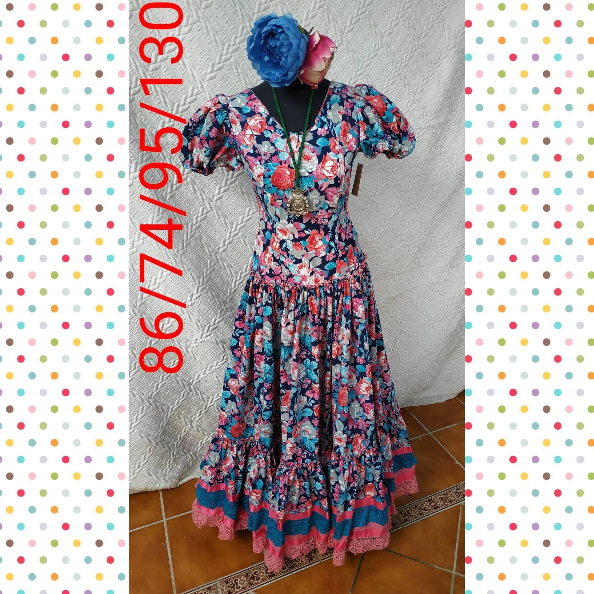 Traje de flamenca modelo 201972R