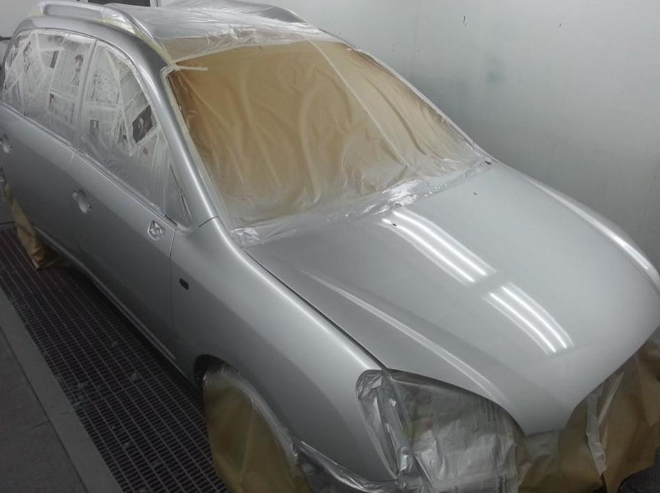 Reparación de carrocería del automóvil