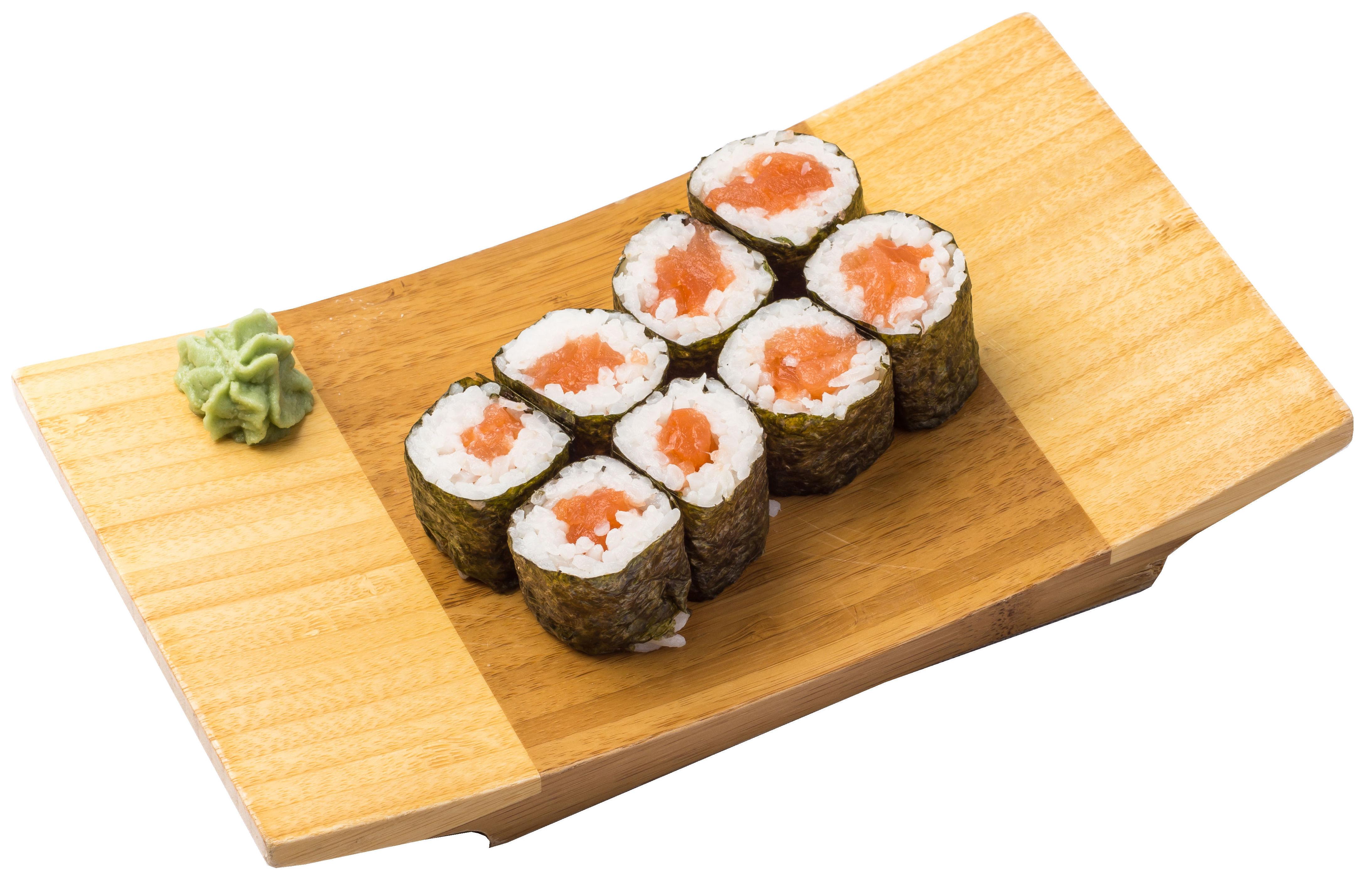 Maki salmón  4,20€: Carta de Restaurante Sowu