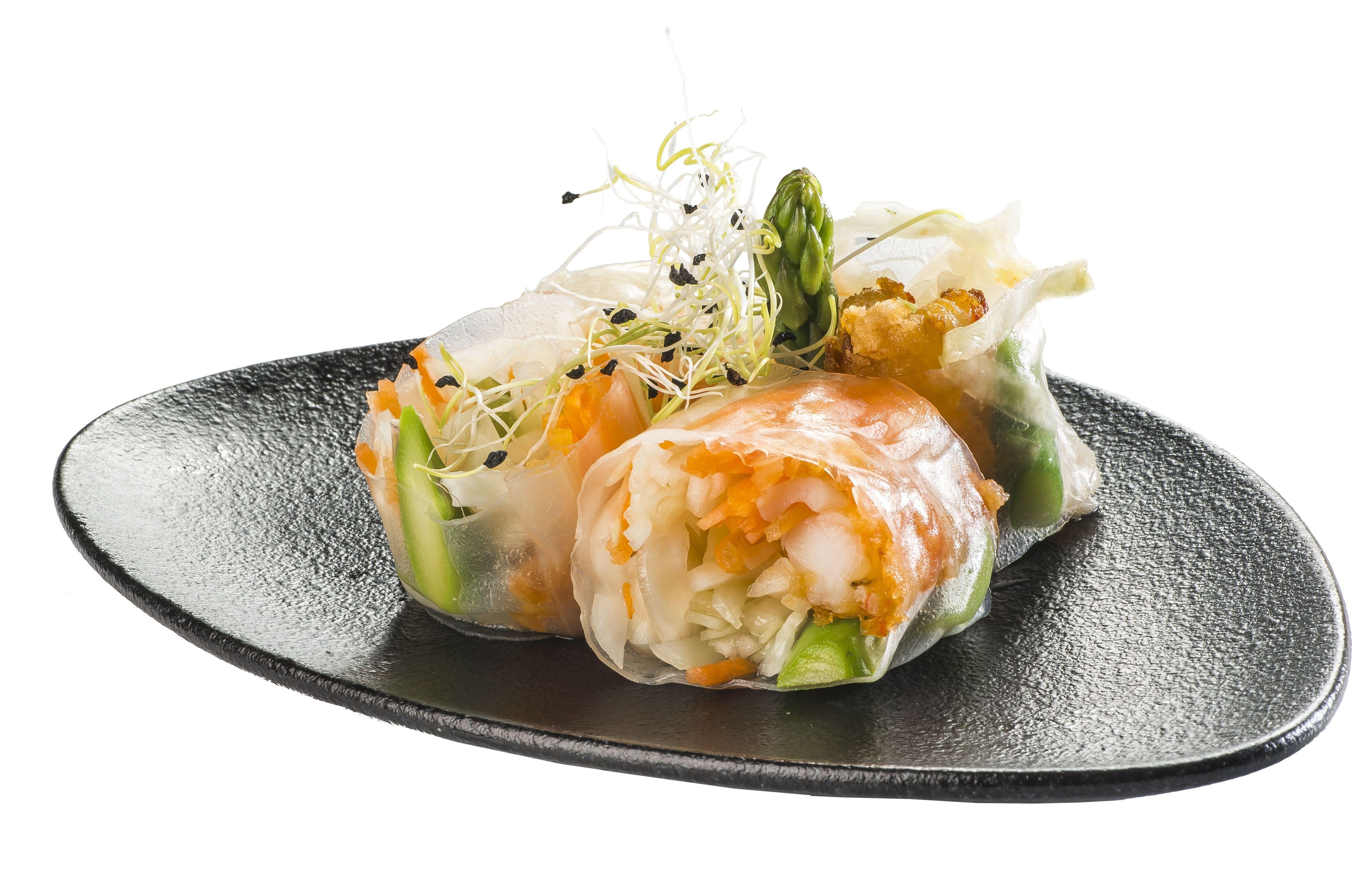 Viet Rolls de gambón  6,50€: Carta de Restaurante Sowu