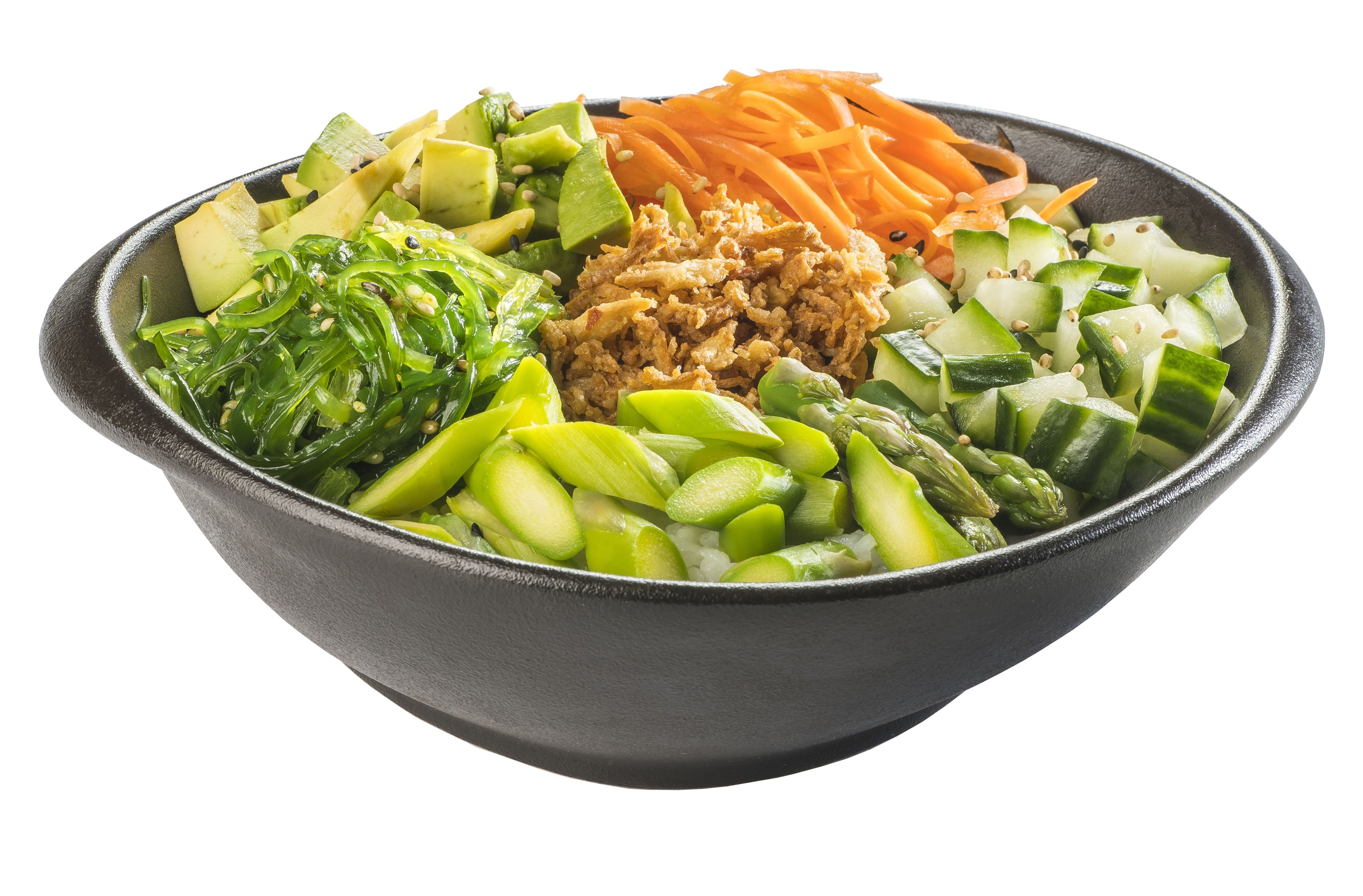 Poke vegetal  6,80€: Carta de Restaurante Sowu