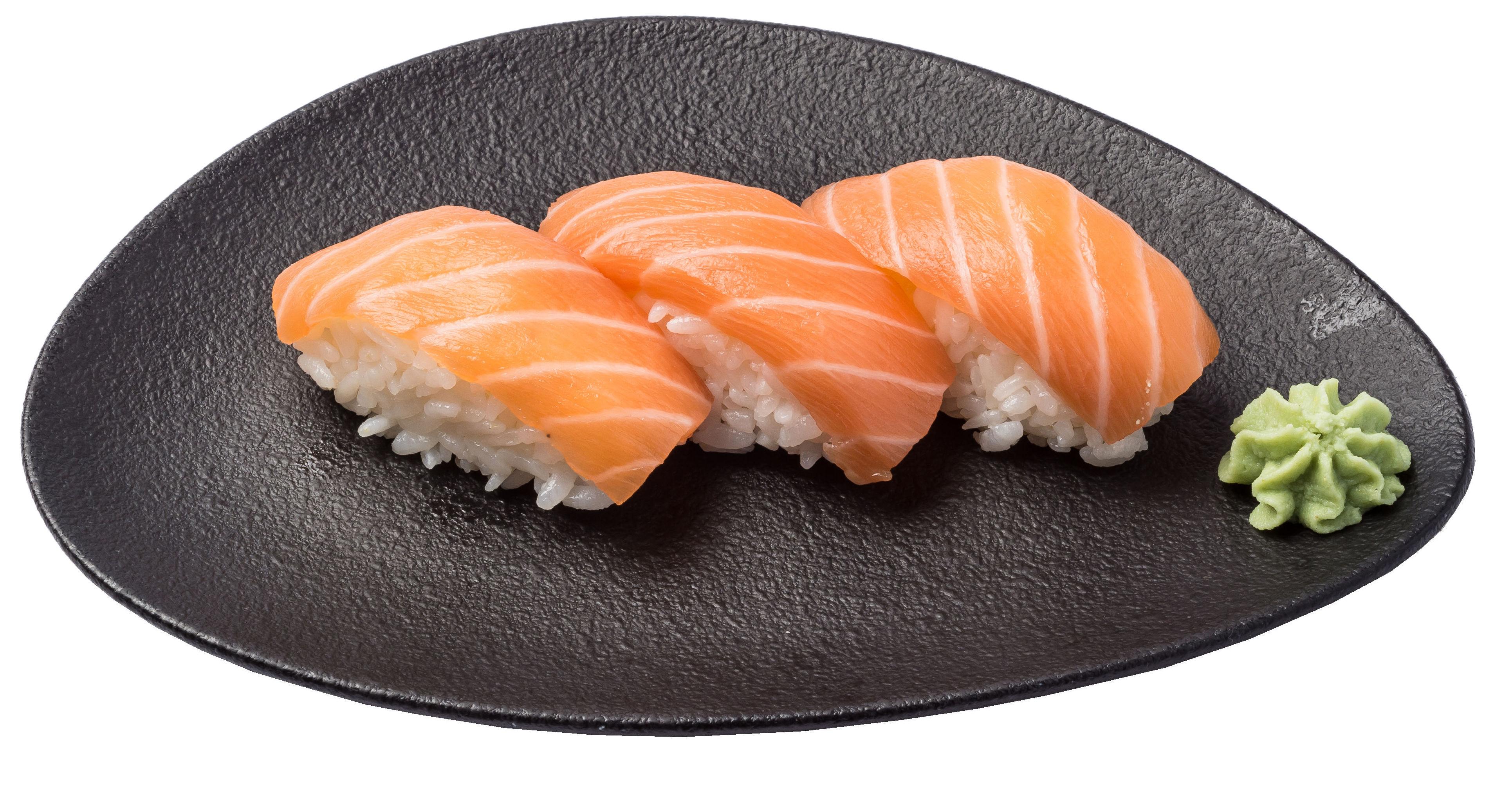 Nigiri salmón  3,50€: Carta de Restaurante Sowu