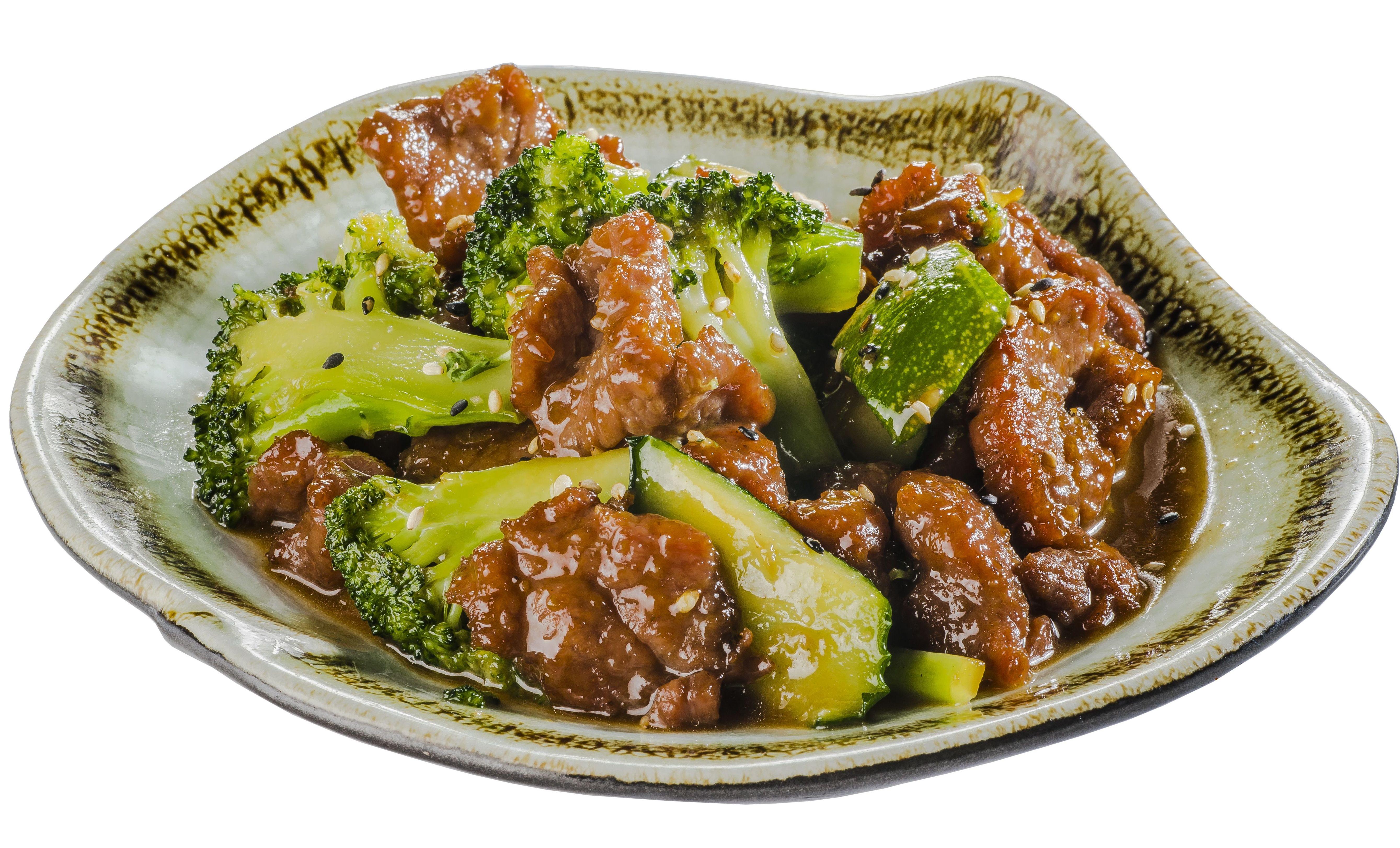 Ternera salteada con verdura en salsa yakiniku  7,50€: Carta de Restaurante Sowu
